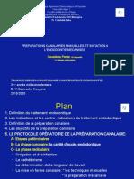 2- TD Préparations Canalaires Manuelles Et Initiation à Lendodontie Mécanisée Deuxième Partie