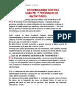 Tarea Investigacion Sistema Permanente y Periodico de Inventarios - Contabilidad - Jhojan Camilo Rodriguez Arbelaez - 11.02 Jm
