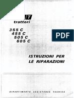 _f_i_alt_ t,Atto,i 355 c 455 c 505 c 605 c Istruzioni Per Le Riparazioni Oipartimento Assistenza Tecn_ca Indice General_ta Mo Tore Frizione Centra Le