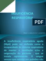 AULA 3 - INSUFICIÊNCIA RESPIRATÓRIA