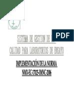 PRESENTACIÓN 2005 NMX-17025-2006 OK
