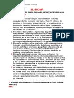 EL IDIOMA - Lectura Critica - Jhojan Camilo Rodriguez Arbelaez - 11.02 JM