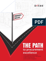The Path to Procurement Excellence