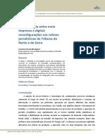 AGNEZ_Convergência Entre Meio Impresso e Digital