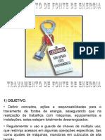 Bloqueio de Fonte de Energia.