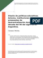 17-Carassai, Mariela (2017). Diseno de politicas educativas.