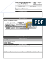 Registro de Identificação, Análise e Avaliação de Riscos
