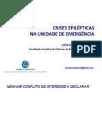 Crises Epiléticas Na Unidade de Emergência - Luís Otávio Caboclo