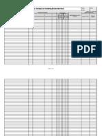 Tabela de Controle de Informação Documentada