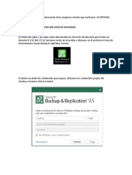 Procedimiento de copia y restauración de las máquinas virtuales que conforman  el FORTISIEM