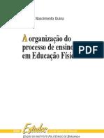 A organização do ensino da EF