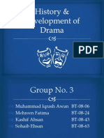 History and Development of Drama in English Literature