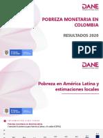 Estudio de pobreza monetaria y pobreza extrema en Colombia