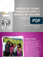 Módulo de young, módulo de corte y - Rocio