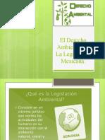 El Derecho Ambiental en La Legislación Mexicana