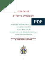Codigo de Direito Canonico
