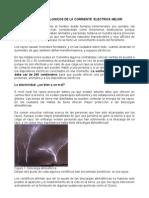 EFECTOS FISIOLOGICOS DE LA CORRIENTE  ELECTRICA MEJOR