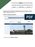 Guia Solicitud de Registro Personal Aeronautico