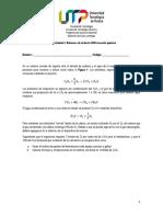 Parcial Unidad 2. Balances de materia CON reacción química 2021-I