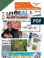 Jornal Litoral Alentejano 2011 Março