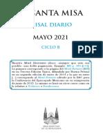 Misal Mayo 2021