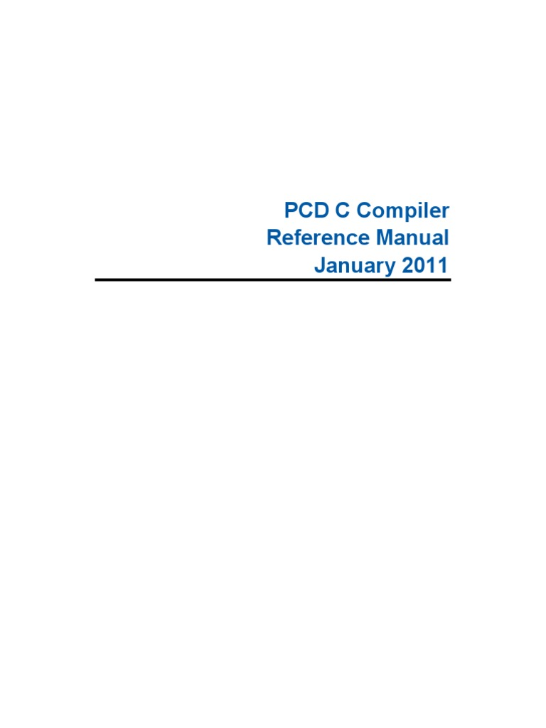 Pcdreferencemanual Parameter Computer Programming File Pic12f675 Pin Pong