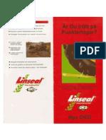 Linseal Brochure - Swedish