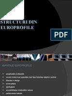 STRUCTURI DIN EUROPROFILE