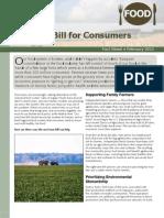 A Farm Bill for Consumers