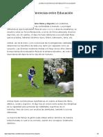 ¿Cuáles son las Diferencias entre Educación Física y Deporte_