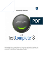 Getting Started With TestComplete 8