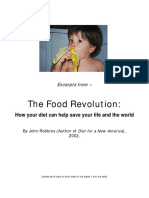 The Food Revolution (John Robbins [2002] exerpts)