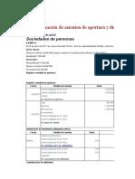 Sociedad s.a.s Ejercicio y Aciento Cont.prueba