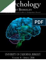 Undergraduate Journal of Psychology at U.C. Berkeley, Spring 2011