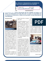 Proyecto BOL/J39 - El Alto UNODC Boletín Nº 1-2011