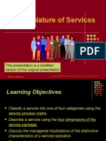 Module 1  Lect ure 5 The nature of Services