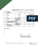 Cek List Dokumen Usulan PNS GURU