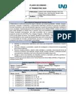 Plano de Ensino Matemática - 2º Trimestre de 2020 - 1ª Série Do Ensino Médio