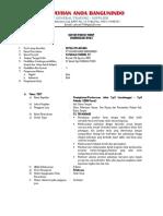 1. CV Pelaksana