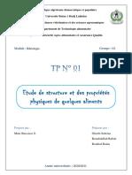 TP 1 Rhéologie