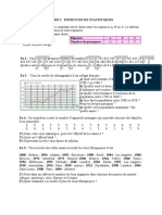fiche 2 exercices statistiques