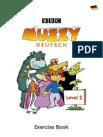 1206342 38476 Bbc Muzzy Exercise Book German Level II