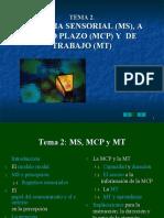 T2_Memoria sensorial acorto plazo y de trabajo