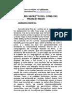 Michael Walsh - Mundo Secreto Del Opus Dei
