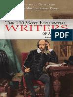 Los 100 influyentes escritores de todos los tiempos