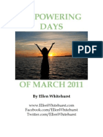 Empowering Days of March 2011