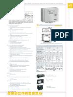Fiche Tech Régulateur Solaire Steca Power Tarom Specification FR