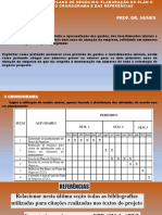 PLANEJAMENTO DO PLANO DE NEGÓCIOS - ELABORAÇÃO_PLANO FINANCEIRO_CRONOGRAMA_REFERÊNCIAS