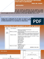 PLANEJAMENTO DO PLANO DE NEGÓCIOS-DEFINIÇÕES_ESTRUTURA_ ELABORAÇÃO