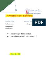 TP Propriétés Des Matériaux (AutoRecovered)